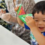 おにぎらずの次は折り紙×おにぎりのペーパークラフトで日本から発信する親子ふれあい工作イベント開催