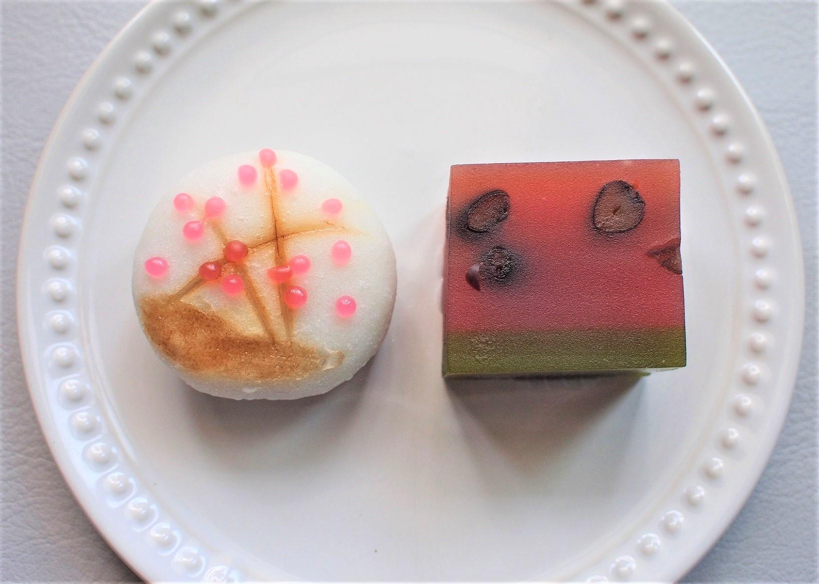 8月の和生菓子