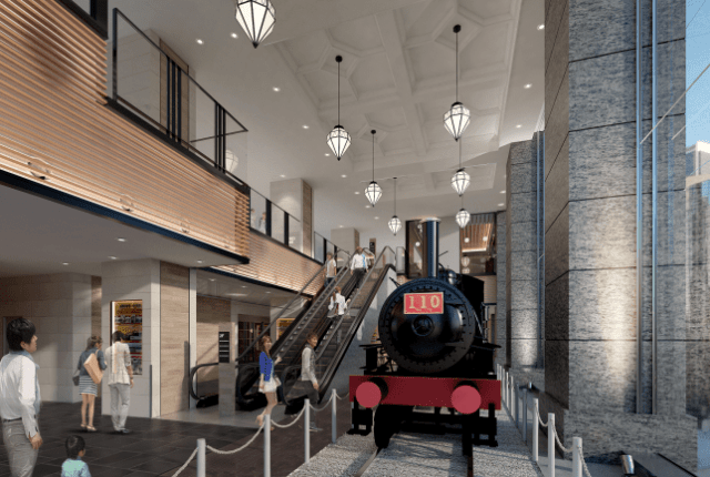 シァル桜木 蒸気機関車