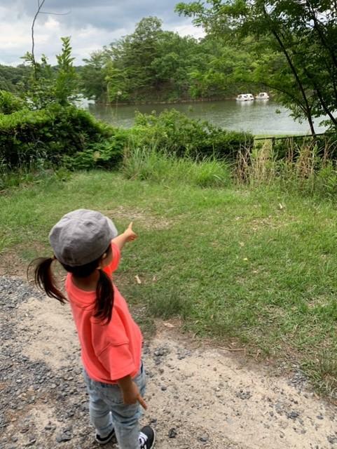 愛知県森林公園 第2駐車場付近